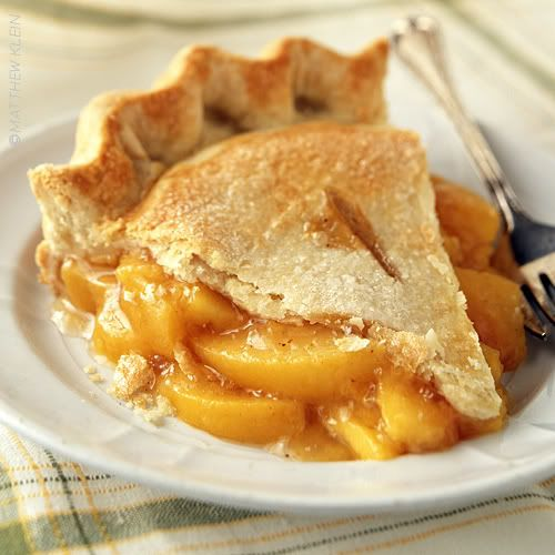 Summer Peach Pie | Seasonal Cookbook